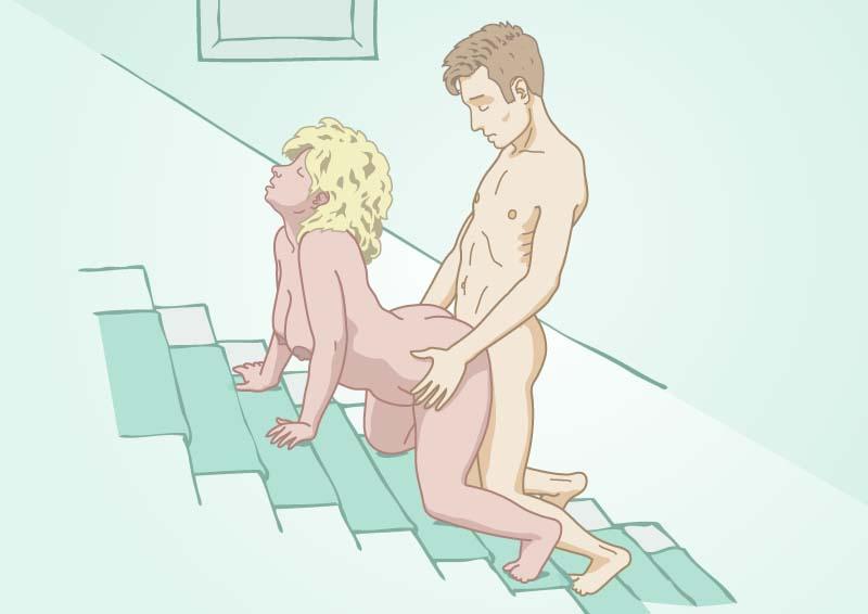 Standje hemelse trap