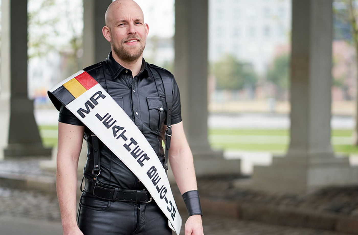 Bart, mister Leather Belgium
