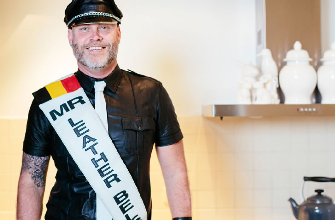 Georges Peeters is Mister Leather